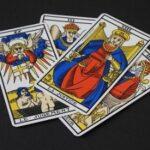 Подредба на таро за влюбени с 4 карти